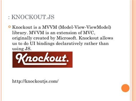 javascript knockout tutorial javascript tutorial
