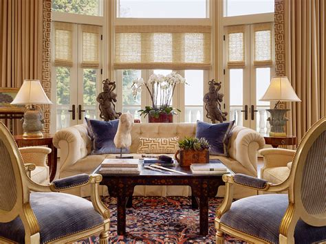 traditional living room ideas using luxury fabrics