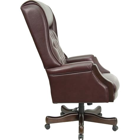high back leather recliner chair flash furniture high back leather executive office chair