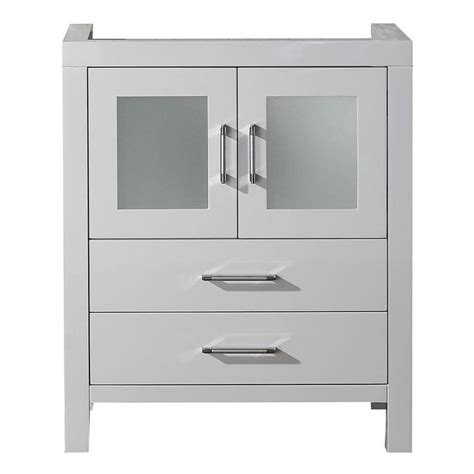 bathroom vanities cabinet only virtu usa 28 inch white single sink cabinet only