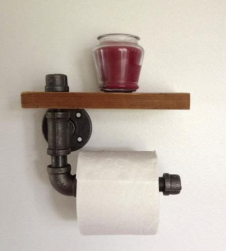 clever toilet paper holders reclaimed wood pipe toilet paper holder 2 do