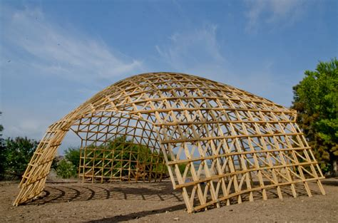 80 Square Meters woodome 2 0 gridshell it