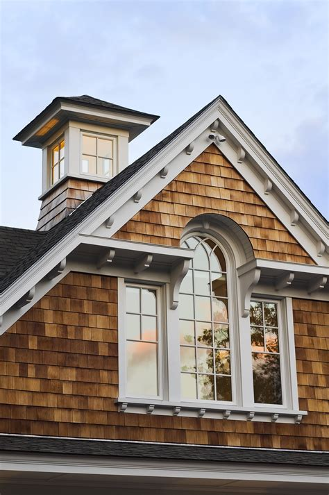 cupola with windows cupola on a new shingle style home details