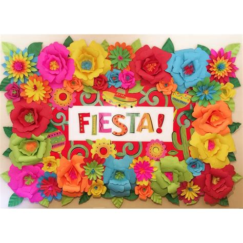 28 mexican paper flowers diy mexican paper flowers diy mexican theme paper flower backdrop mexican paper flower mightylinksfo