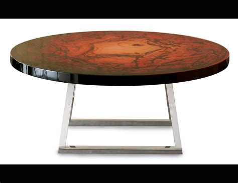 Leather Upholstered Coffee Table Nella Vetrina Rugiano Decoro 9052 Upholstered Coffee Table
