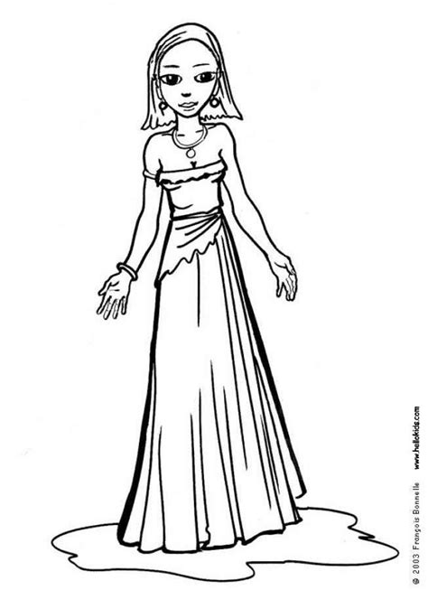 coloring pages of prom dresses medieval princess painting clipart panda free clipart