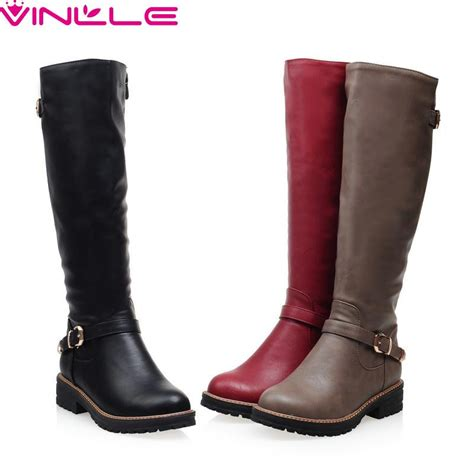 fashion boots vinlle 2017 boots winter shoes toe fashion