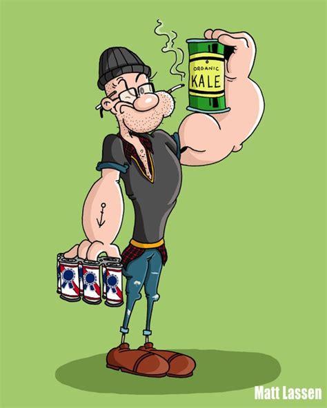 imagenes de ositos hipster as 237 se ver 237 an estos 19 dibujos animados si fueran hipsters