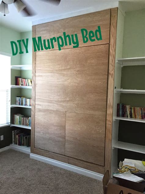 murphy bed diy 10 smart diy murphy beds for tight spaces shelterness