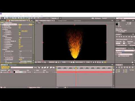 cara membuat intro video dengan after effect cara membuat api dengan after effects versi simple youtube