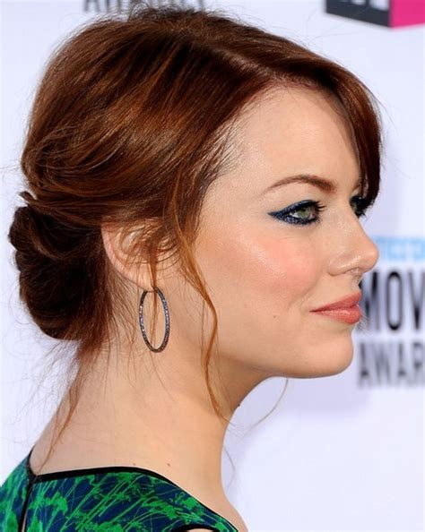 emma stone updo top 26 emma stone hairstyles pretty designs