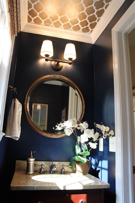 navy blue bathroom ideas navy blue bathroom dream home ideas pinterest