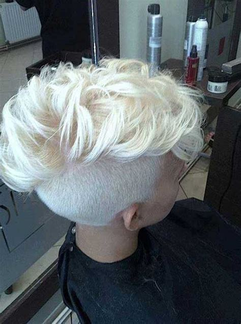 blonde pixie mohawks 15 new mohawk pixie cuts pixie cut 2015