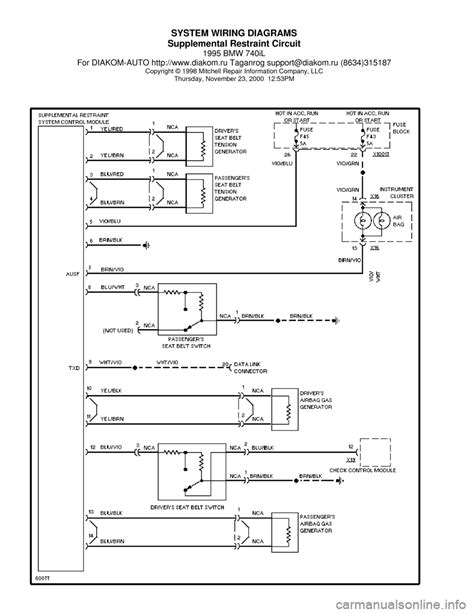bmw 740il radio wiring diagram 28 images e38 wiring