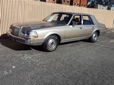 1987 lincoln continental 1987 lincoln continental impeccable rust free california
