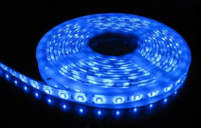 3528 Smd Blue Led Strip Light 5 M Long 60 Led M Blue Led Light Strips