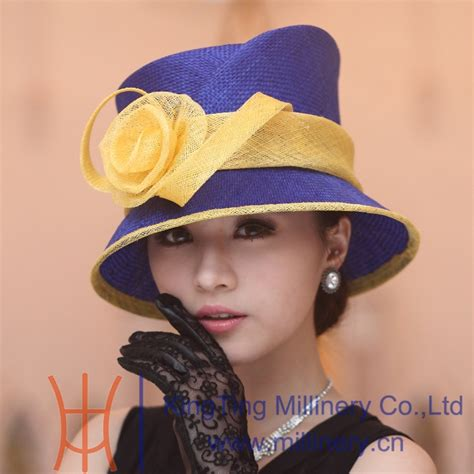 free shipping fashion hat dress hat for straw hat