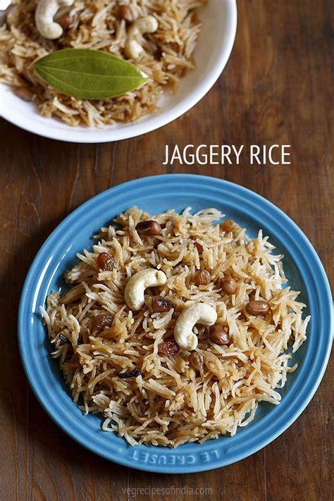 jaggery rice recipe | sweet rice recipe | jaggery recipes G Recipes