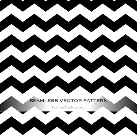 Black and White Zig Zag Background by 123freevectors on ... Zig Zag Pattern Clipart