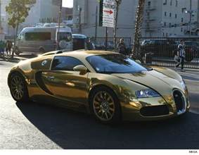 Bugatti Made Of Gold Cars Wheels And Whips Tmz