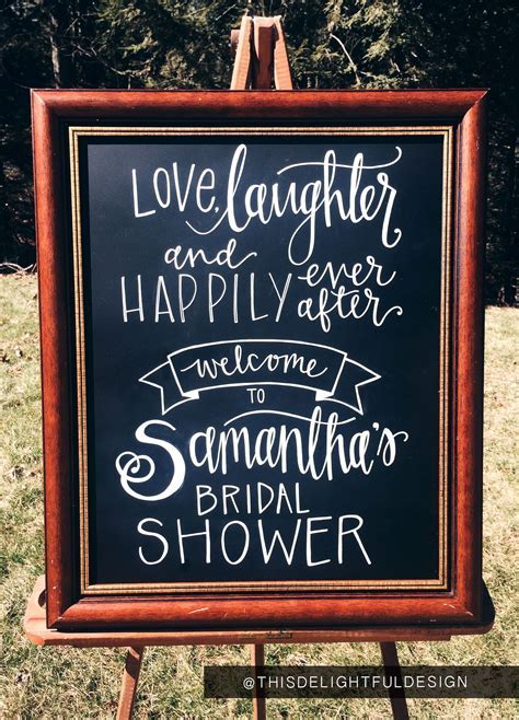 Love, Laughter & Happily Ever After   Bridal Shower