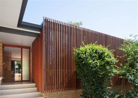 wood architecture mid century bungalow in sydney is wrapped in a stunning