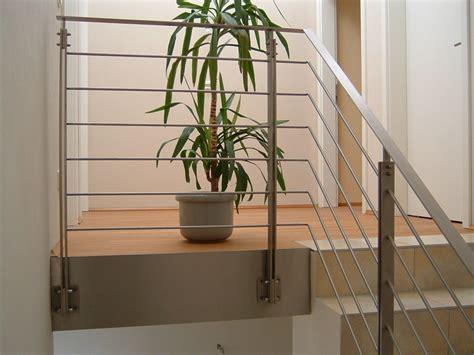 drahtseil geländer bausatz treppengelnder holz edelstahl innen kreatives haus design