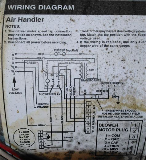 blower with dual thermostat diagram wiring diagram