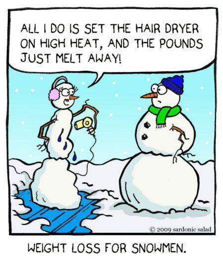 Hair Dryer Jokes snowman comics search