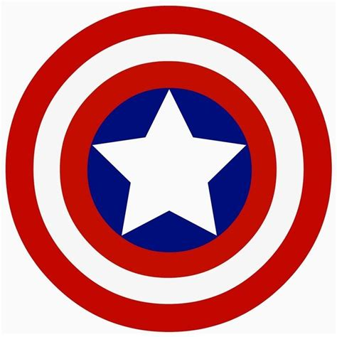 captain america shield template captain america shield coloring pages printable photo
