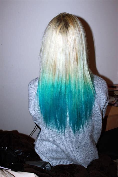 dip dye hair long hair image 668696 on favim com