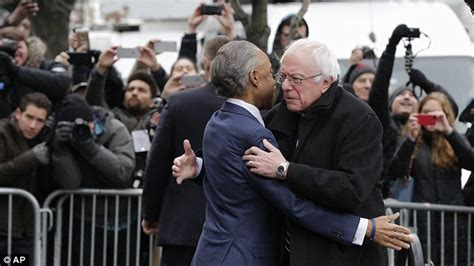 Does Al Sharpton A Criminal Record Bernie Sanders Meets Al Sharpton For Breakfast In Harlem After New Hshire Win