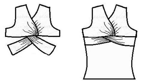 el costurero de stella blusa con drapeado anudado el costurero de stella