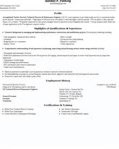 building and grounds clearing and maintenance resume sles