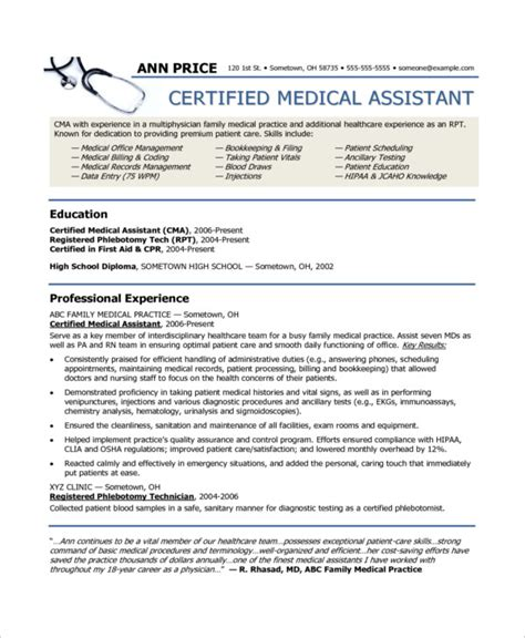 certified assistant resume templates 10 assistant resume templates pdf doc free premium templates