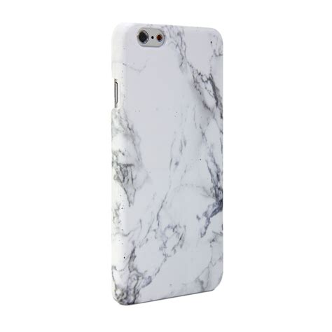 Iphone 6 6s Plus Marble Texture Gray Hardcase iphone 6 gmyle print white marble pattern cover ebay