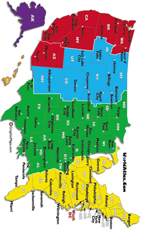 printable area code and time zone map vizkieprecun map with time zones usa