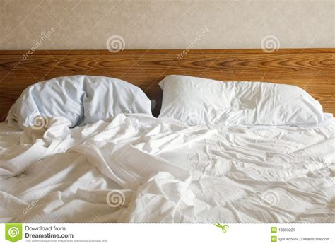 empty bed empty bed stock image image 13883221