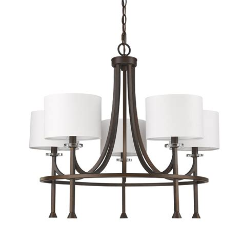 chandelier l shades home oksana brass light chandelier with shades new classics
