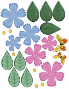 Flower Paper Craft - paper crafts flowers with fluted edges in 3 d ammey