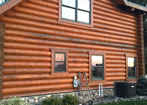 Log Cabin Maintenance by Log Home And Log Cabin Repair And Restoration Minnesota