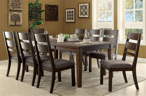 Espresso Dining Room Set by Isadora Espresso Extendable Rectangular Dining Room Set