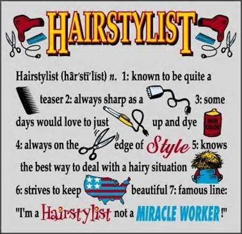 day of hair stylist hairdresser quotes and sayings profile picture quotes