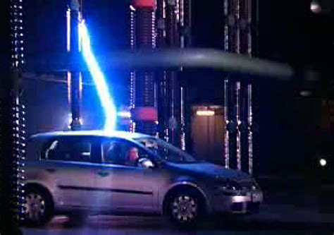 Blitzeinschlag Auto by Lightning Vs Car