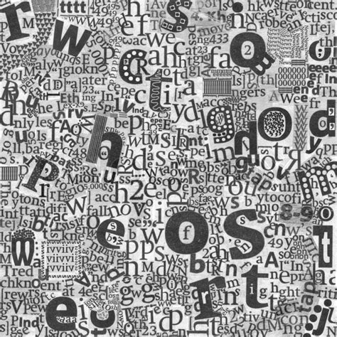 abstract newspaper wallpaper abstrakte kunst buchstaben der zeitung stock foto