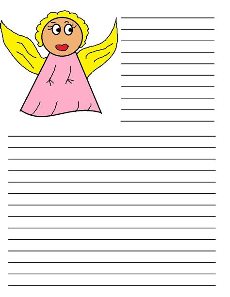 printable paper angel template for christmas writing search results calendar