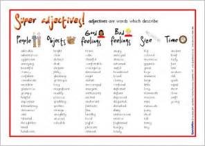 common adjectives pills words tes