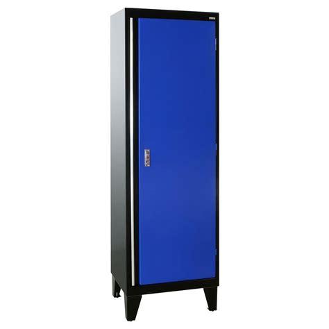 Single Door Cabinet Sandusky 24 In W X 18 In D X 79 In H Modular Steel Single Door Cabinet Pull In Black