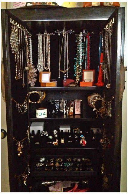 the ultimate jewelry armoire how to make your own