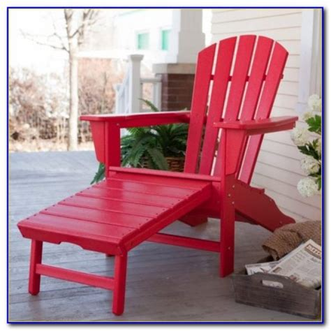 Adirondack Chairs Costco by Resin Adirondack Chairs With Ottoman Chairs Home Design Ideas Nnjewo1981